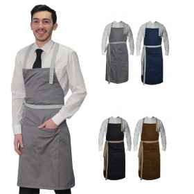 Apron paravanti pastry work-restaurant, wine bar, man room divided food